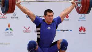 Ivan Markov vann EM-guld år 2014 i Almaty.