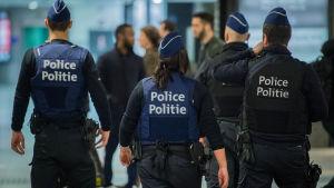 Polis i Bryssel