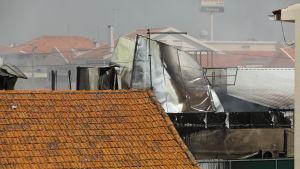 Ett mindre flygplan kraschade i Portugal den 17 april 2017.