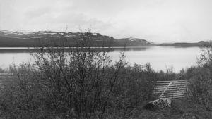 Vattenlandskap i Fjäll-Lappland.