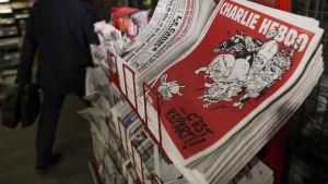 Nytt nummer av Charlie Hebdo publicerat 25.2.2015