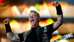 James Hetfield i Metallica.