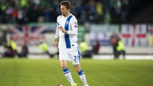 Kasper Hämäläinen i landslaget
