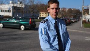 Överkonstapel Mikael Appel vid polisinrättningen i Österbotten, Vasa