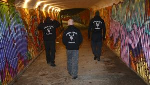Soldiers of Odin i Drammen, Norge.