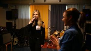 Saara Bettina, MGP-finalist från Borgå