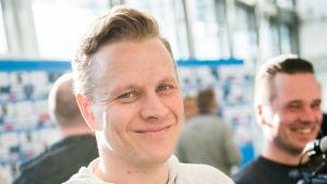 Lasse Kukkonen inför färden till Paris.