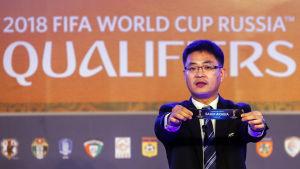 Den asiatiska delen av kvalet inför VM 2018 har redan lottats fram. På lördag är det Europas tur.