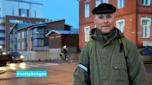 Kalle Halme från Hälsa och Trafik.