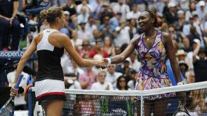 Karolina Pliskova slog ut Venus Williams i semifinalen i US Open 2016.