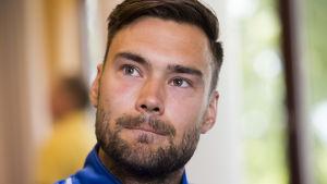 Tim Sparv, landslagsspelare i fotboll.