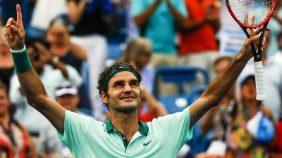 Federer mot doldis i semin