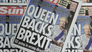 The Sun: Drottningen stöder Brexit