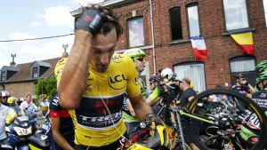 Fabian Cancellara avbröt Tour de France 2015