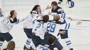 Finland tog hem junior-VM på hemmaplan.