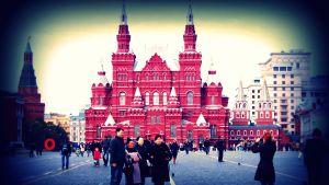 Geokätkö Moskovan torilla