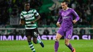 Gareth Bale med bollen