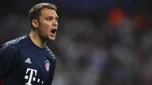 Manuel Neuer ropar.