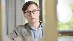 Markku Lehmus, forskare vid Näringslivets forskningsinstitut.