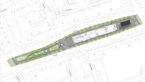 Suunnitelma Rotterdamin skeittipuistoksi