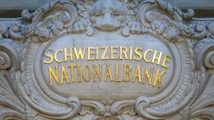 Logo för Schweiz nationalbank