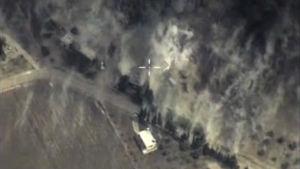 Försvarsministeriets bilder av lufträderna