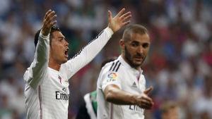 Cristiano Ronaldo och Karim Benzema