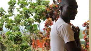 Alex, kongolesisk flykting
