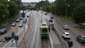 Nordenskiölsgatan i Helsingfors 8.7.2015