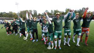IFK Mariehamn firar cupsegern