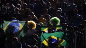 Brasiliansk publik, OS 2016.