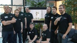 Teamet bakom satelliten Aalto-1.