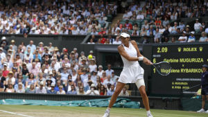 Tennis, Garbine Muguruza