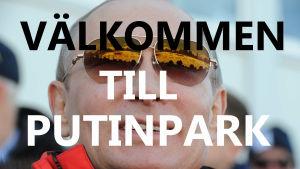 Photoshoppad bild på Putin.