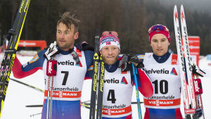 Norge, Norge och Norge. En medaljtrio i mängden.