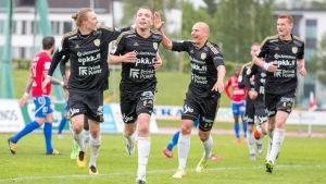 Jussi Vasara målskytt mot PS Kemi