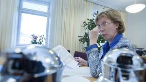 Anna-Maja Henriksson (SFP) under sin tid som justitieminister.