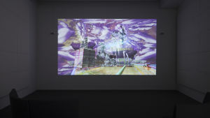 En Plein Air: Music of Objective Romance, videoinstallation av Jacolby Satterwhite