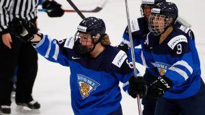 Finlands damhockeylandslag.