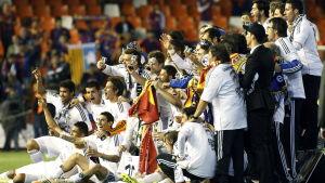 Real Madrid vinner spanska cupen 2014