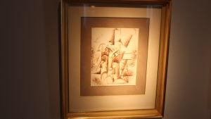 Tété d'un homme (1912) av Pablo Picasso