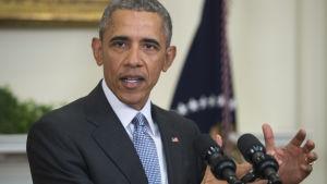 USA:s president Barack Obama berättade den 23.2.2016 om sina planer att stänga Guantánamo.