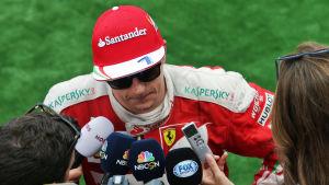 Kimi Räikkönen, augusti 2016.