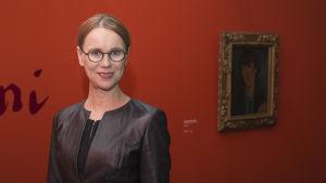Ateneumin johtaja Susanna Pettersson