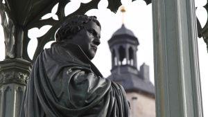 Staty av Martin Luther i Wittenberg