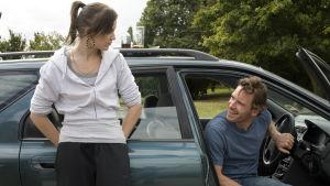 Katie Jarvis ja Michael Fassbender elokuvassa Akvaario (2009)