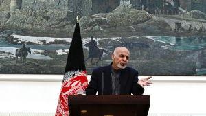 President Ashraf Ghani har inte reagerat på viceguvernörens vädjan om hjälp.