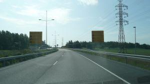 Ring tre - vägen till Nordsjö