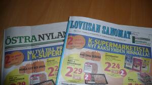 Tidningarna Östra Nyland och Loviisan Sanomat
