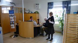 Nordeas kontor i Dalsbruk.
